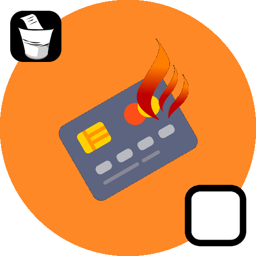 Burning Credit Card