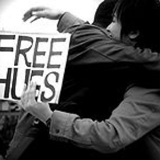 BucketList + Give A Free Hug To A Stranger On The Street.