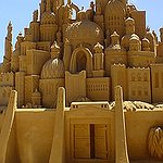 My life goal is... Make a sand castle with ...