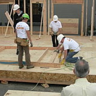 BucketList + Build A Habitat For Humanity Home.