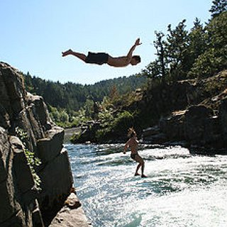 BucketList + Jump Of A Cliff Into Water