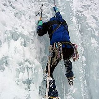 BucketList + Climb A Real Ice Wall