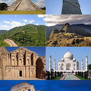 BucketList + I Want To Visit The Seven Wonders Of The World