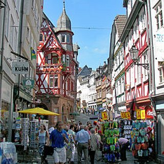 BucketList + Have Lunch At My Mother's Birthplace In Marburg, Germany