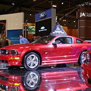 BucketList + Get A Red Ford Mustang