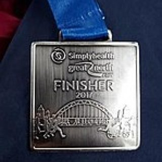 BucketList + Complete The Great North Run