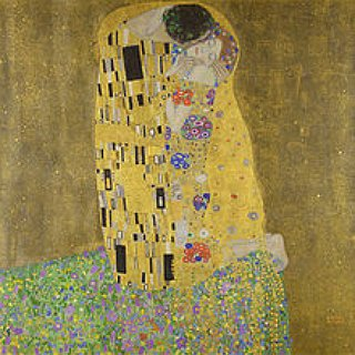 "BucketList + See ""The Kiss"" Painting By Gustav Klimt"