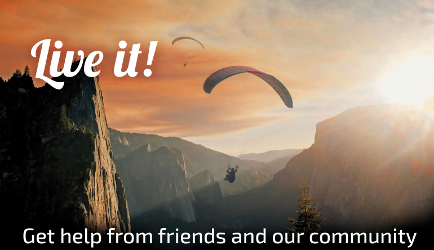 Paraglide Bucket List - Living life to the fullest